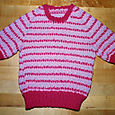 Child's slipstitch pullover