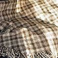Brown plaid blanket