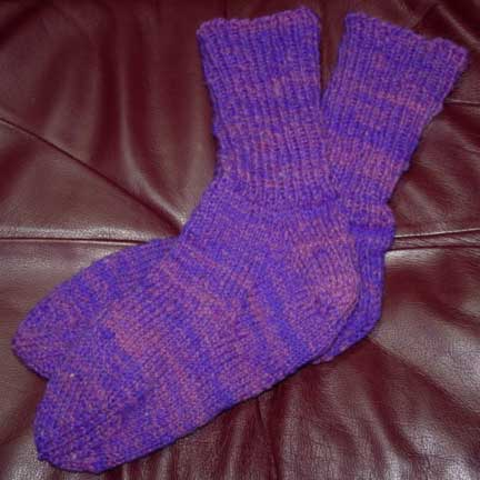 Clun Forest socks