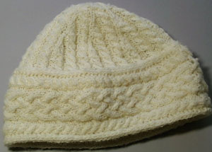 Tunis cabled hat