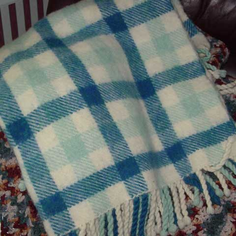 Brushed twill blanket