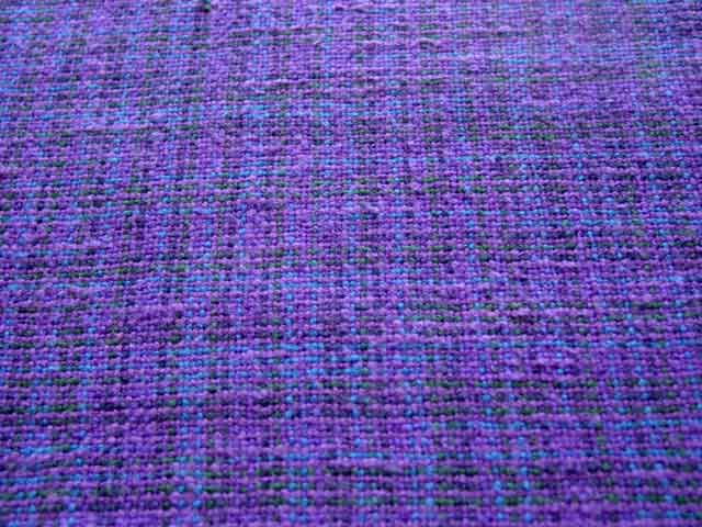 Plain weave in novelty yarns