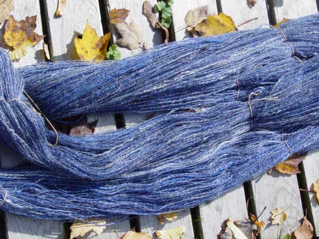 Storm Clouds yarn